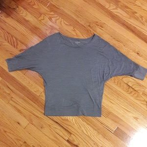 Eileen Fisher blue shirt